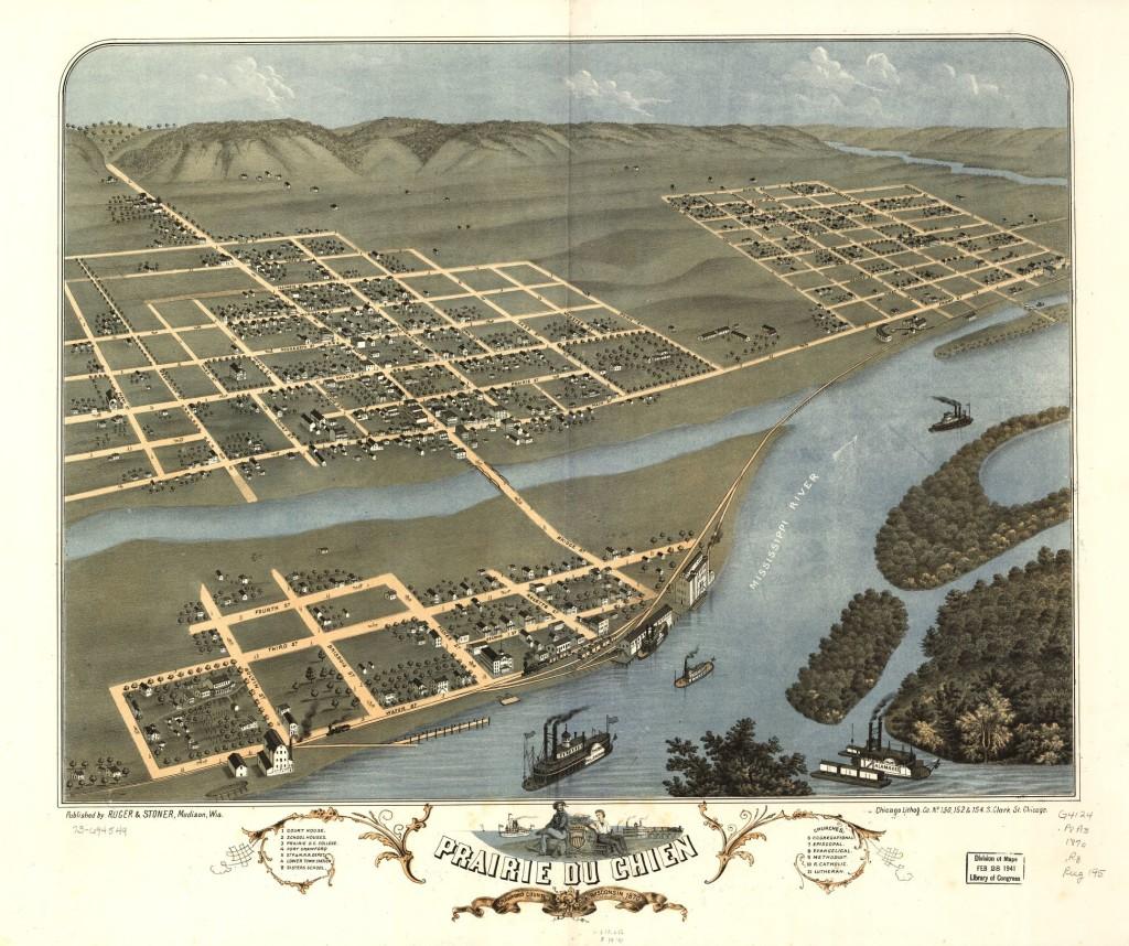 Prairie du Chien, 1870