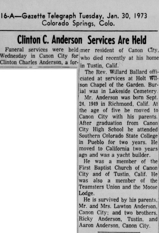 Colorado Springs Gazette-Telegraph, 30 Jan 1973, Tue, Page 16